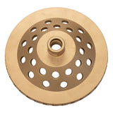"6"" Spiral Segmented Cup Wheel - Medium"