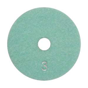 "4"" Polishing Pad 3 Step (SyncDist Generic) PPW4-3 Step Generic"