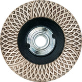 "Diamax Cyclone Ultra 4"" Cup Wheel for Engineered stone, granite, marble, porcelain, ultra-compact"