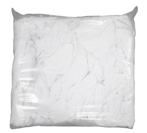 White Rags, Vacuum Pack - 20 lbs