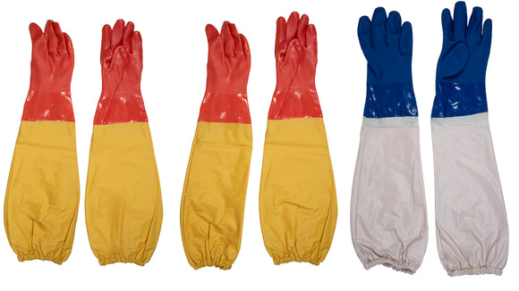 Gloves with Sleeves