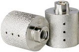 Diamax Cyclone Vacuum Brazed Wheels for Engineered stone, granite, marble, and ultra-compact
