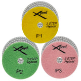 "Xpeed 4"" Wet Polishing Pad - 3 Step"