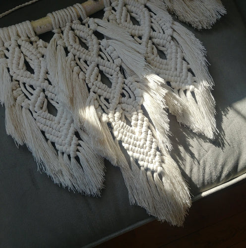 Feather Macrame Wall Hanging