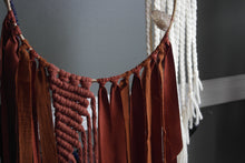 Load image into Gallery viewer, Terracotta Raw Citrine Macrame