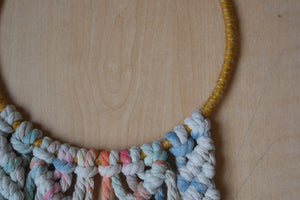 Hand Painted Macrame