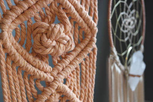Beauty Is In The Eye Of The Beholder Macrame