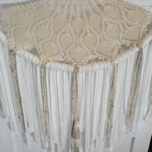 Load image into Gallery viewer, Creams Tasseled Jumbo Crochet