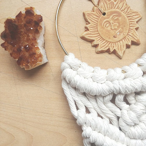 Let Your Light Shine Macrame