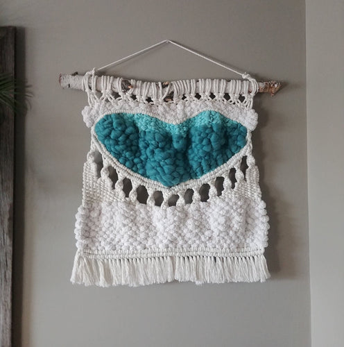 Infinite Love Teal Weaving