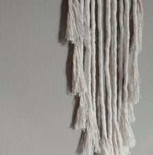 Load image into Gallery viewer, White Leather Drift Macrame