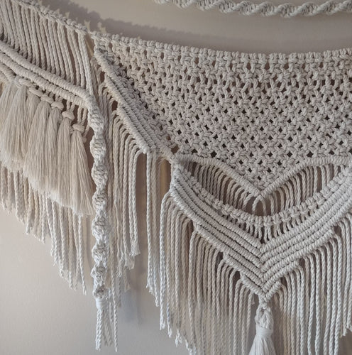 Tassels On Tassels Macrame Wall Hanging