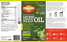 Superfood Hemp Seed Oil