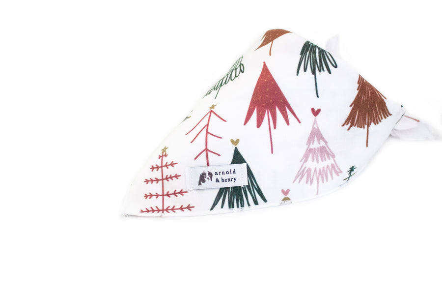 North Pole Dog Bandana by Arnold and Henry