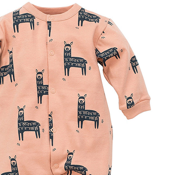 Pijama Bebeke Happy Llama Orange