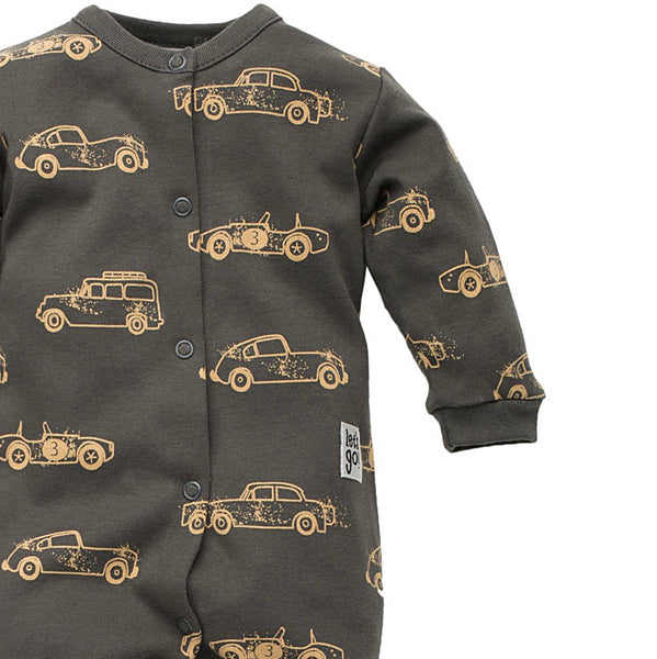 Pijama Bebeke Old Cars Grafit