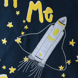 10299__1_Tricou cu imprimeu Fly Me To The Moon
