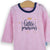 Set 2 body cu maneca lunga Little Princess Pink/White, 0 - 3 ani