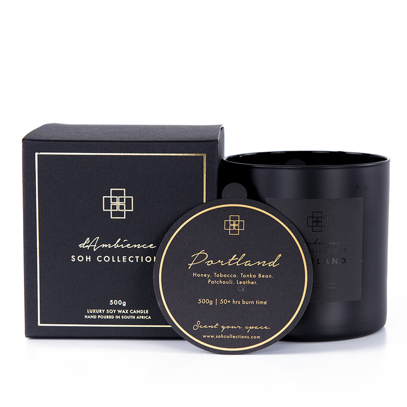 Portland | 500g Scented Candle