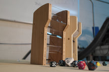 Bamboo Wide Mouth Dice Tower