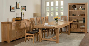 Grampian Chunky Oak Furniture