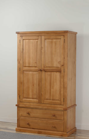 Rutland Double Wardrobe with Drawer