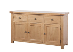 Cotswold 3 Drawer Sideboard
