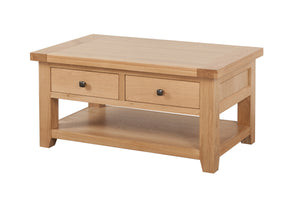 Cotswold Coffee Table 2 Drawers