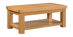 Grampian Coffee Table With Shelf - Price Match Guarantee