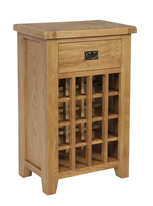 Rustic 16 Bottle Wine Cabinet - FREE UK Mainland Delivery