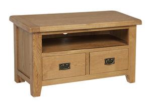 Rustic 2 Drawer TV Unit - FREE UK Mainland Delivery