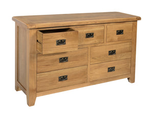 Rustic 3 over 4 Chest of Drawers