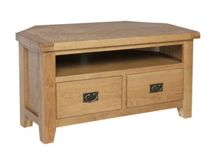 Rustic Corner TV Unit - FREE UK Mainland Delivery