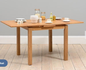 Rustic Drawleaf Dining Table