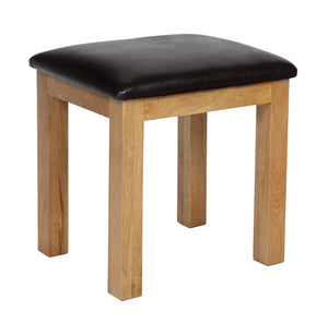 Rustic Dressing Table Stool - FREE UK Mainland Delivery