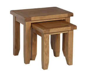 Rustic Nest of Tables - FREE UK Mainland Delivery
