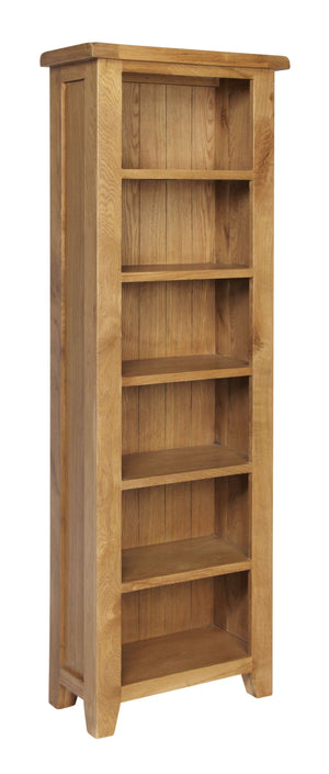 Rustic Slim Bookcase - FREE UK Mainland Delivery
