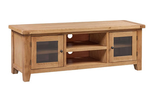Rustic Widescreen TV Cabinet - FREE UK Mainland Delivery