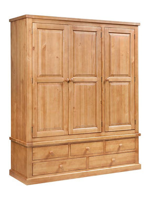 Rutland Triple Wardrobe - Price Match Guarantee
