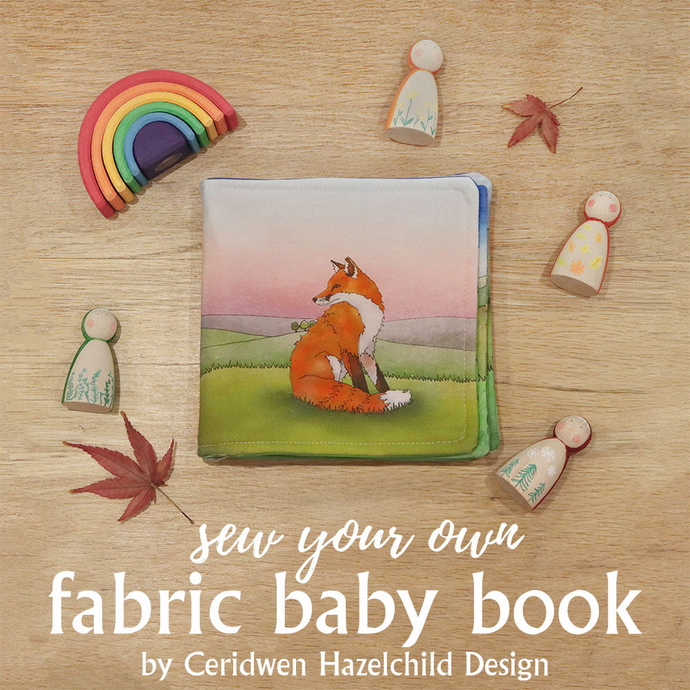 Sew Your Own Fabric Baby Book