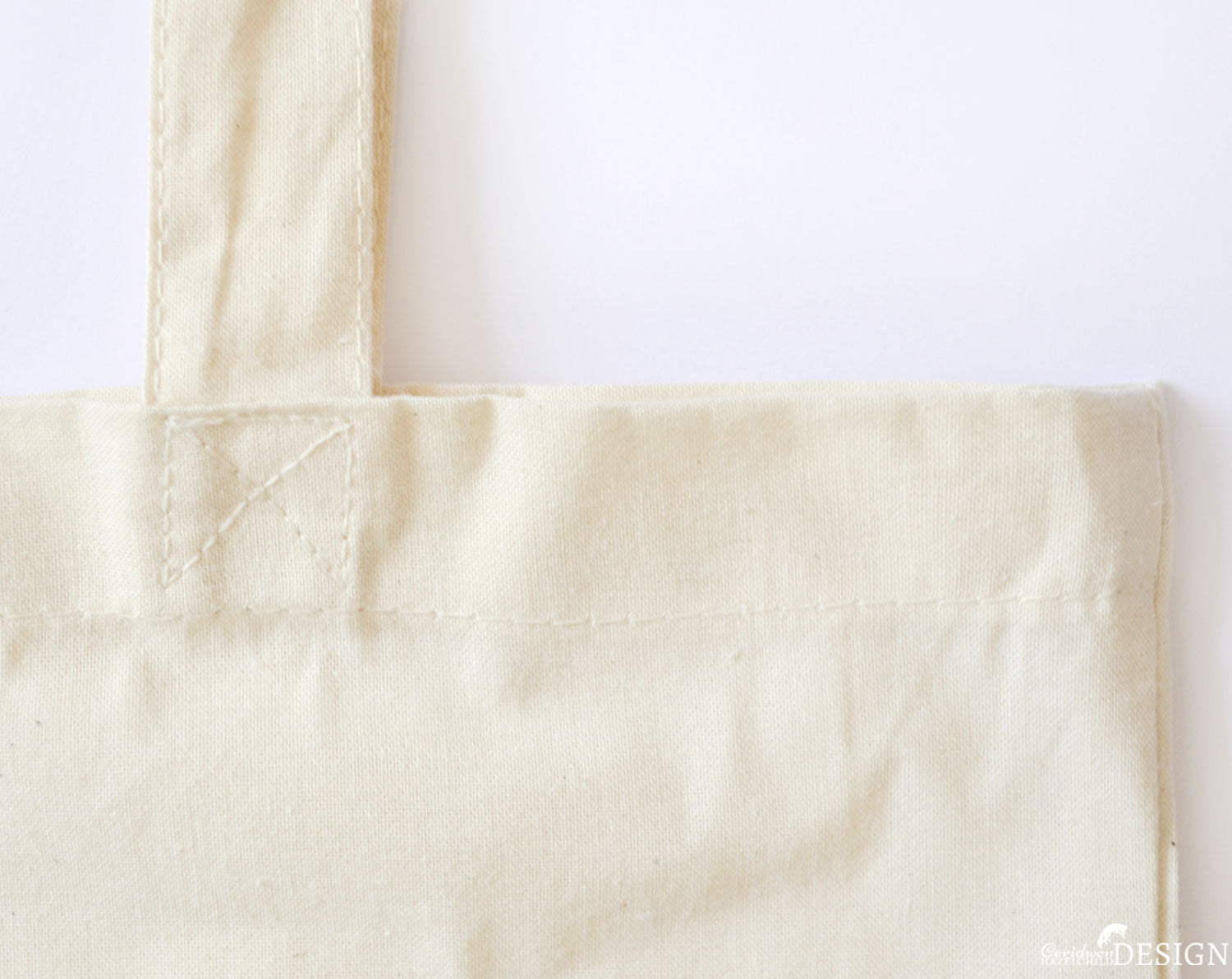 Cotton Tote Bag Detail