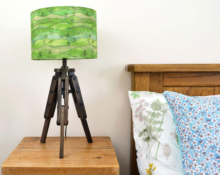Countryside Lampshade by Ceridwen Hazelchild Design