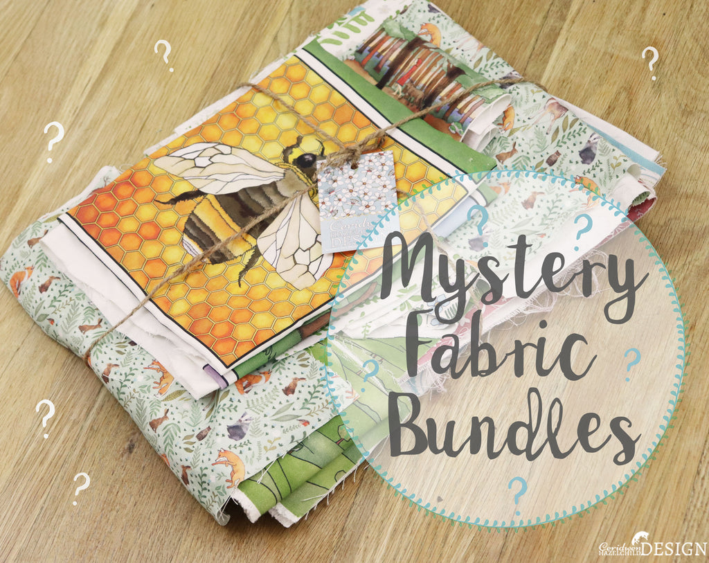 Mystery Fabric Remnant Bundles - Offcuts, Misprints, and End of Line Cotton Fabric