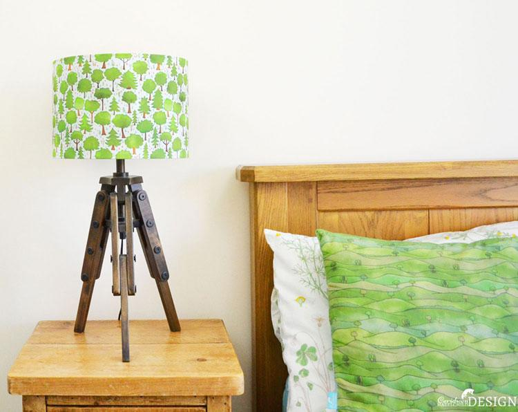Woodland Lampshade by Ceridwen Hazelchild Design