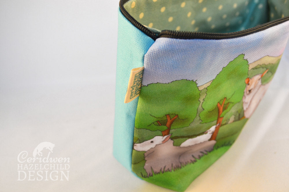 Sheep Toiletry Wash Bag