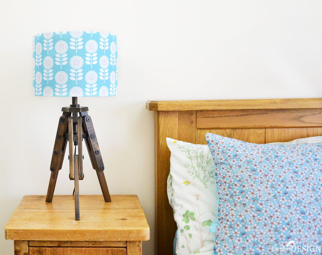 Scandi Flower Lampshade