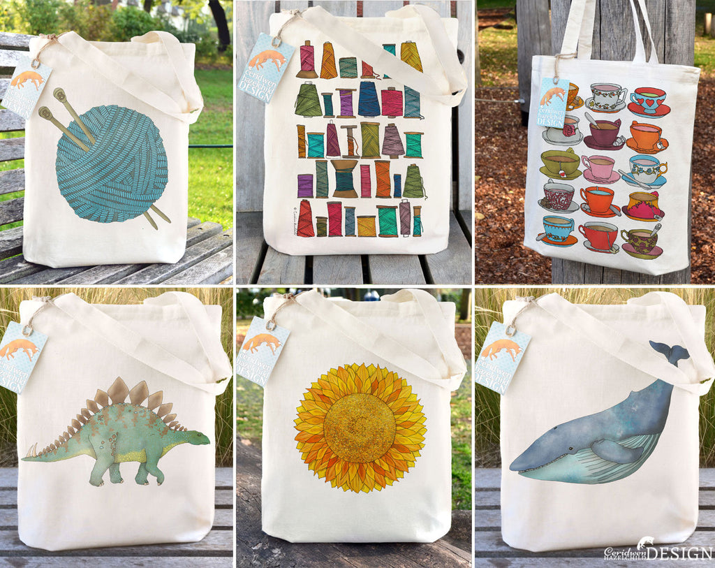 SECONDS SALE Tote Bags