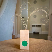 Load image into Gallery viewer, Formica and Wood Bud Vase