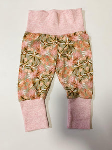 Grow With Me Pants Newborn to 9 Months Native Floral
