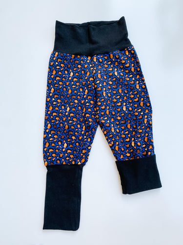 Grow With Me Pants 9 months - 3 years Navy Purr